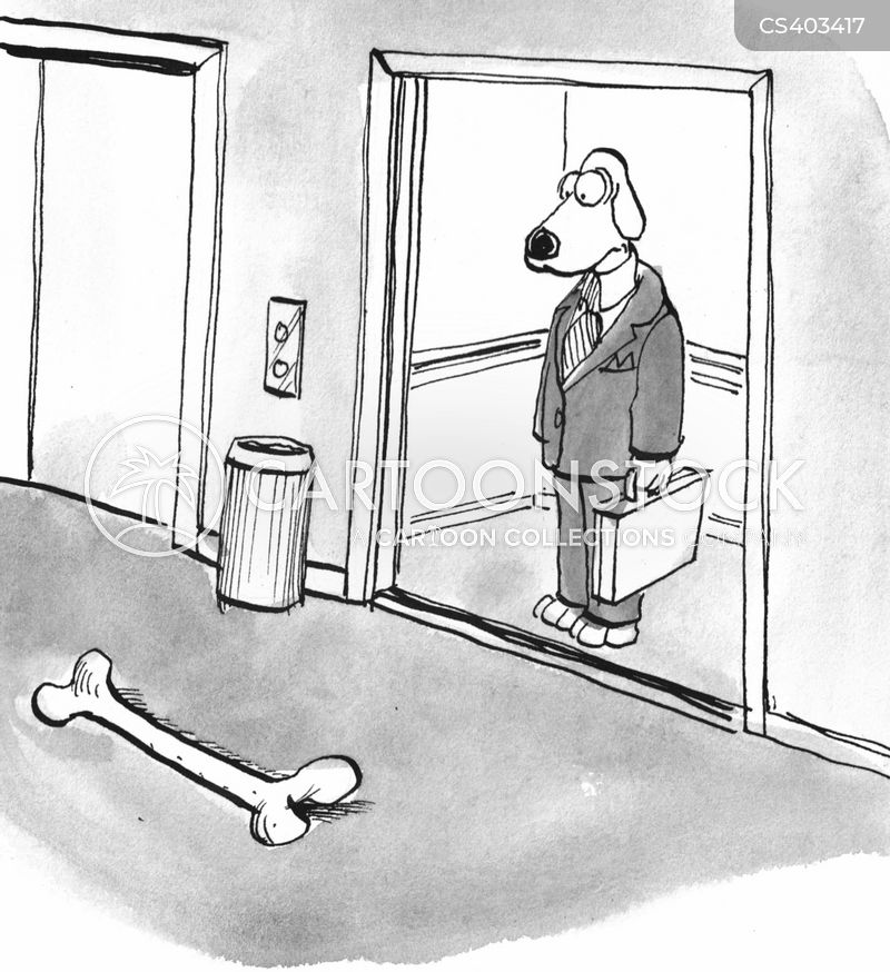 dog bones cartoon
