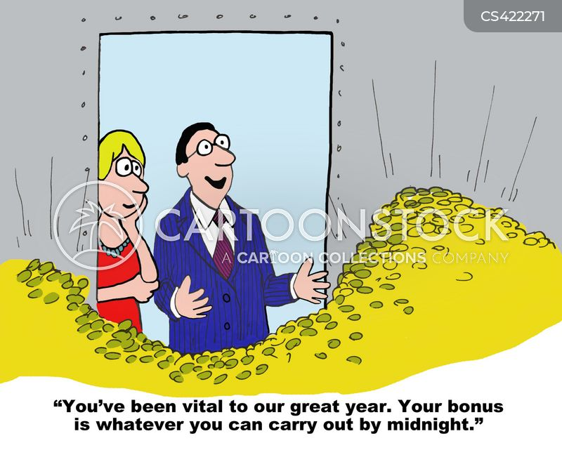 performance related pay cartoon