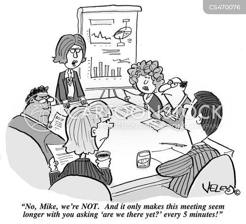team meeting cartoon