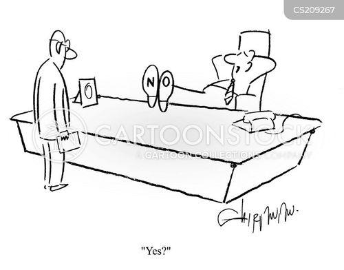 bosses office cartoon