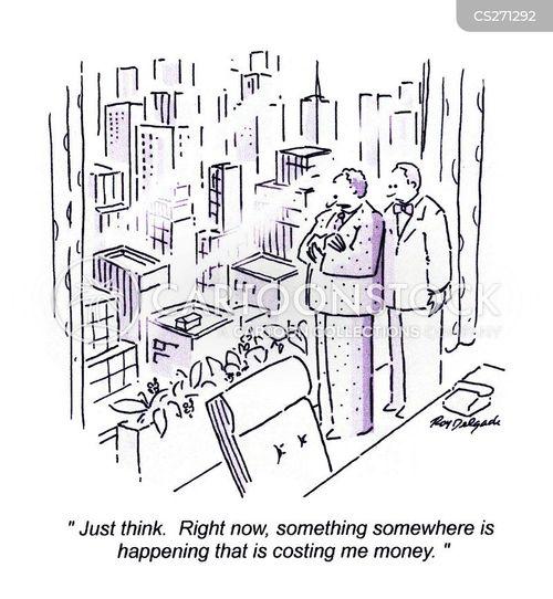 outgoings cartoon