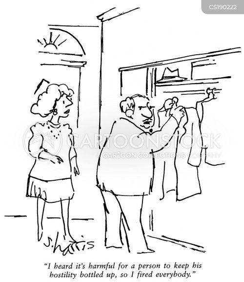 hostility cartoon