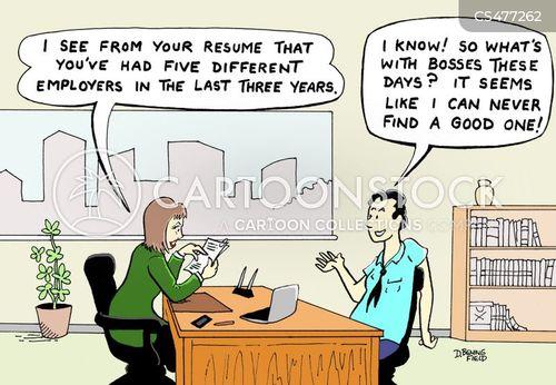employee attitude cartoon