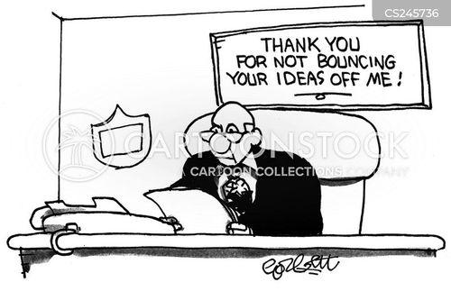 closed mindedness cartoon