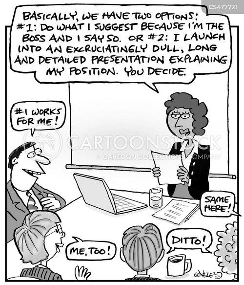 building consensus cartoon
