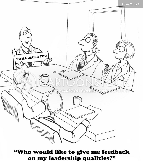 business leader cartoon