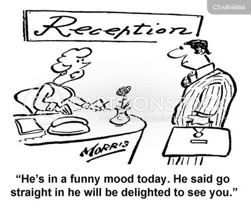 funny mood cartoon
