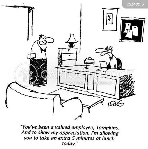 flexitime cartoon