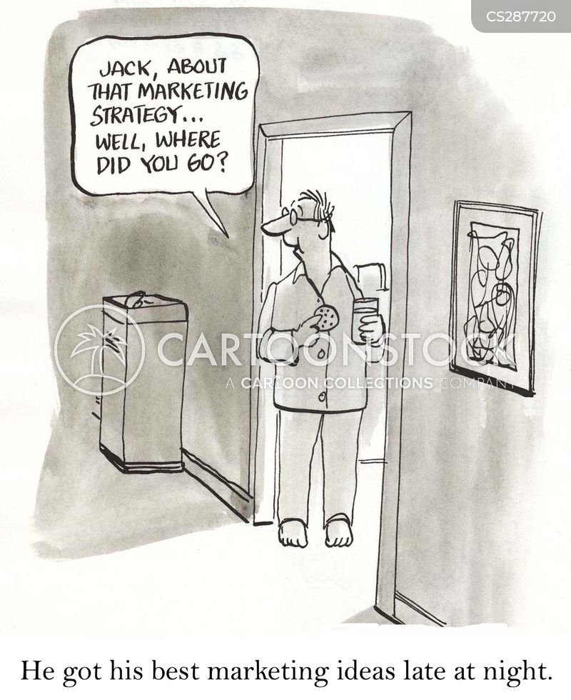 marketing idea cartoon