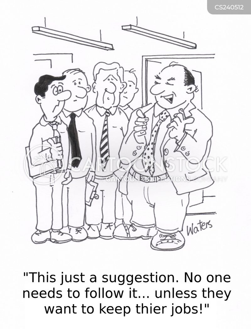 office policies cartoon