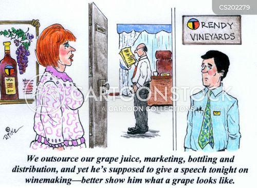 viniculture cartoon