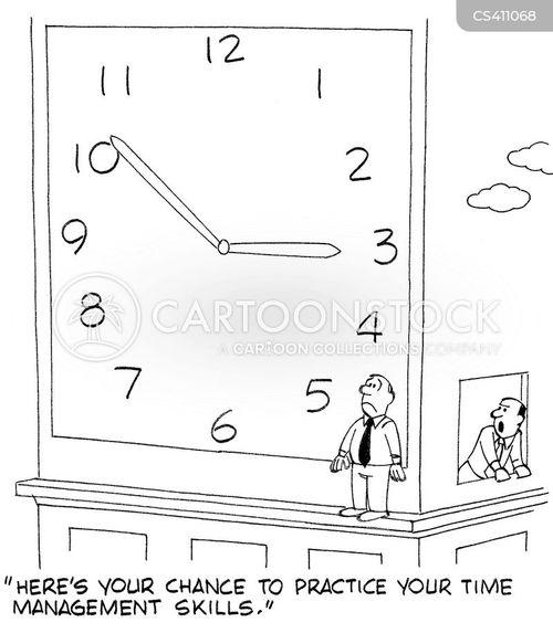 organisational skills cartoon