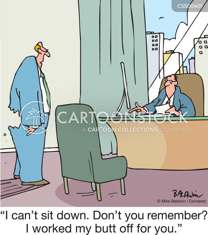 meeting with the boss cartoon