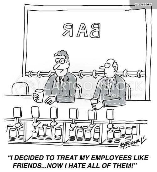 toxic workplace cartoon