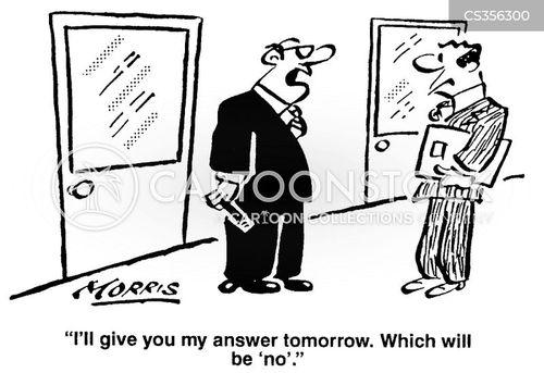 unresponsive cartoon