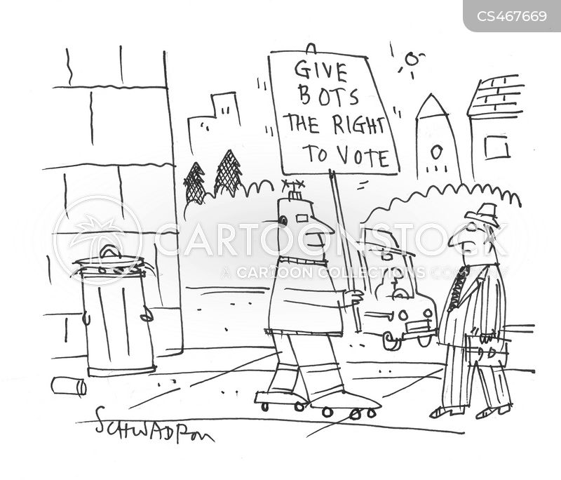 voting rights cartoon