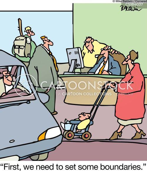 boundaries cartoon