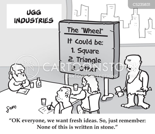 think-tanks cartoon