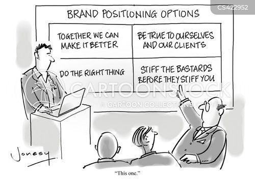 company motto cartoon