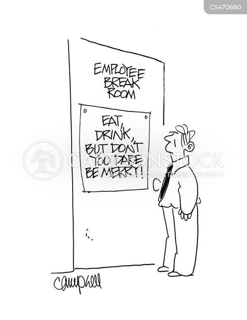 breakrooms cartoon