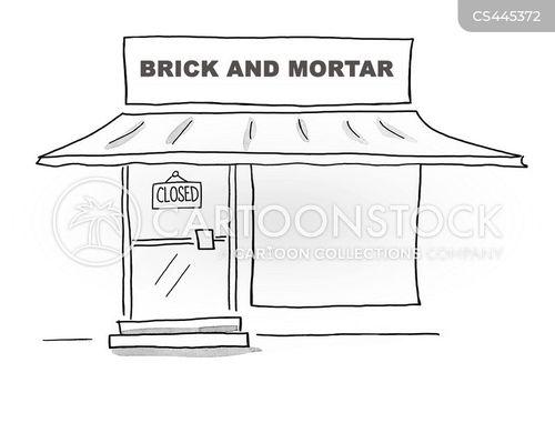 retail store cartoon