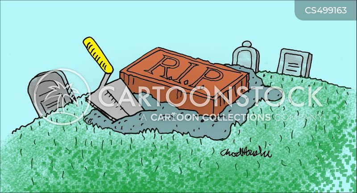 brick and mortar cartoon