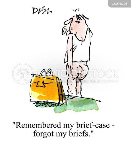 brief-cases cartoon