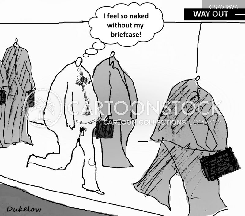 business clothing cartoon