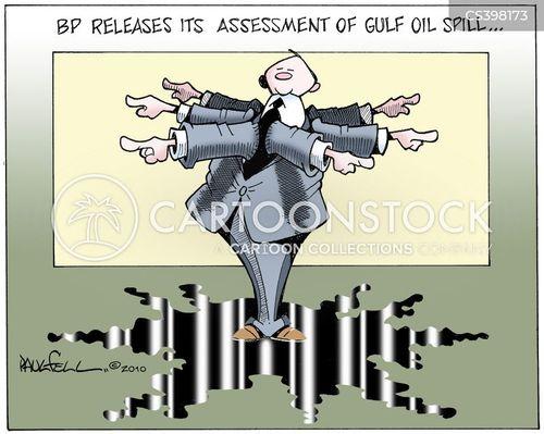 gulf oil spill cartoon