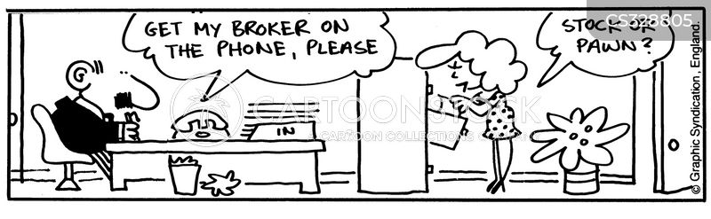 tock brokers cartoon
