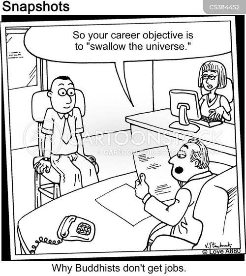 job ineterview cartoon