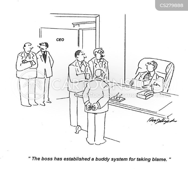buddy system cartoon