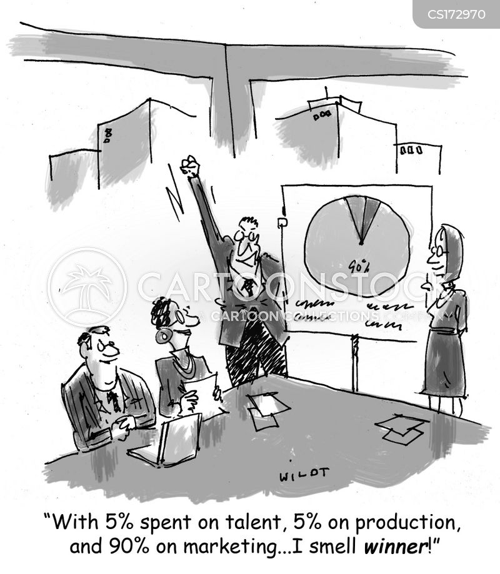 pie chart cartoon