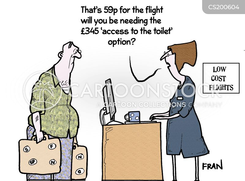 hidden fees cartoon