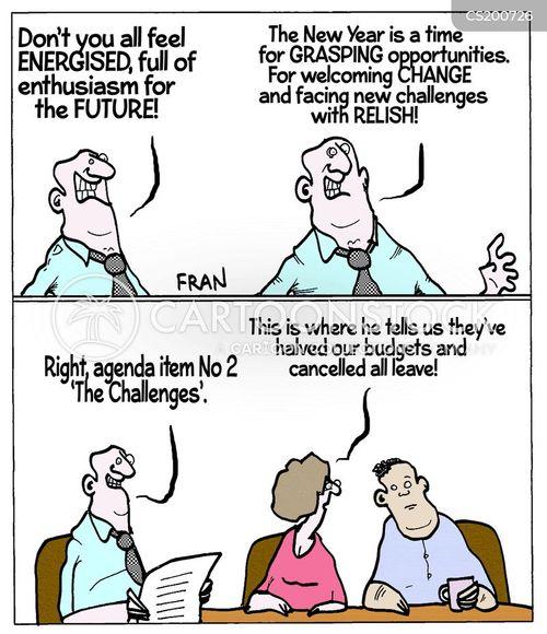 business language cartoon