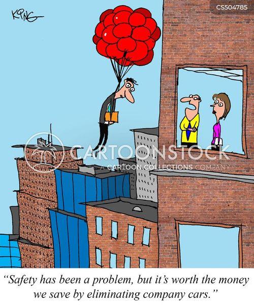 company transportation cartoon