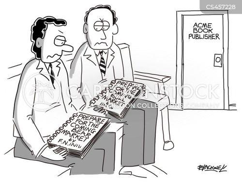 economic forecasting cartoon