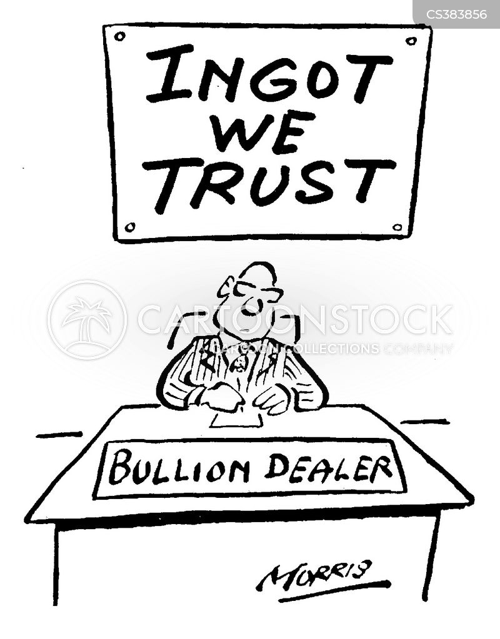 Bullion Cartoons - cartooncollections.com