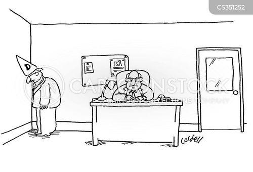dunces cartoon