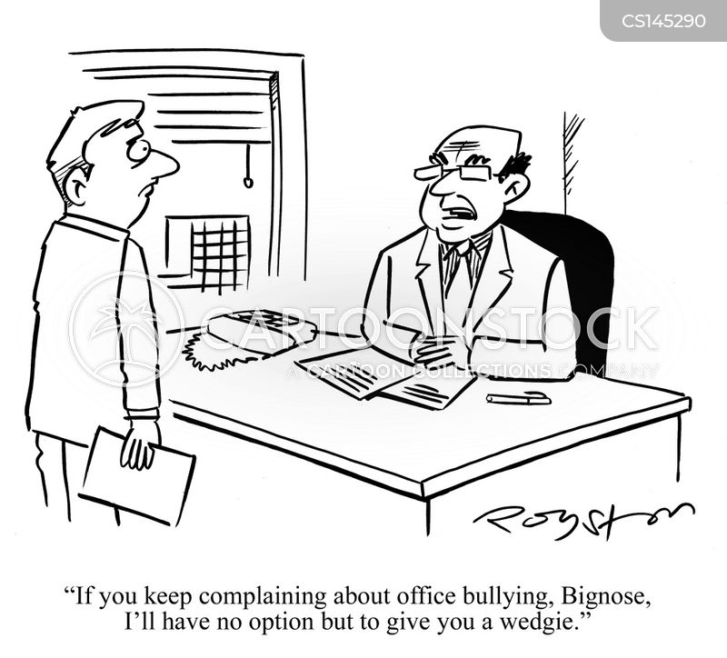 Image result for work bully cartoon