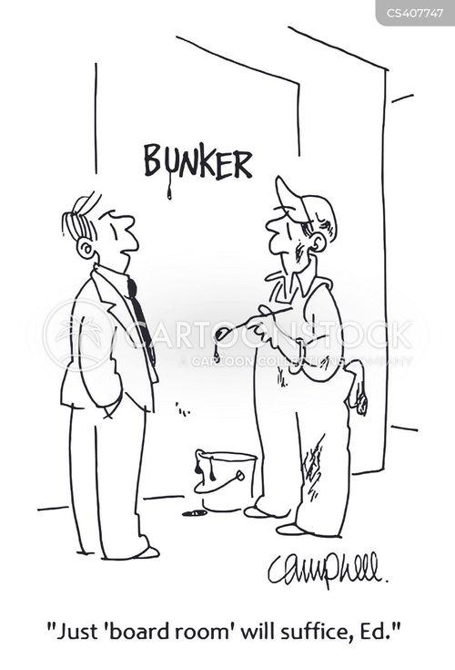 bunkers cartoon