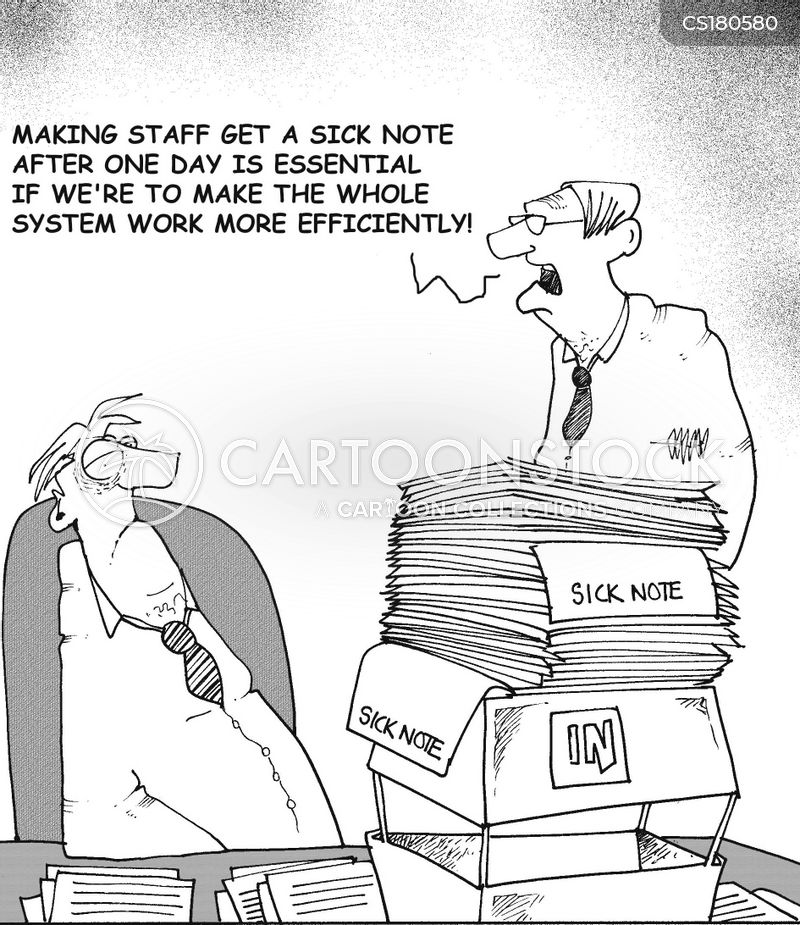 paper work cartoon