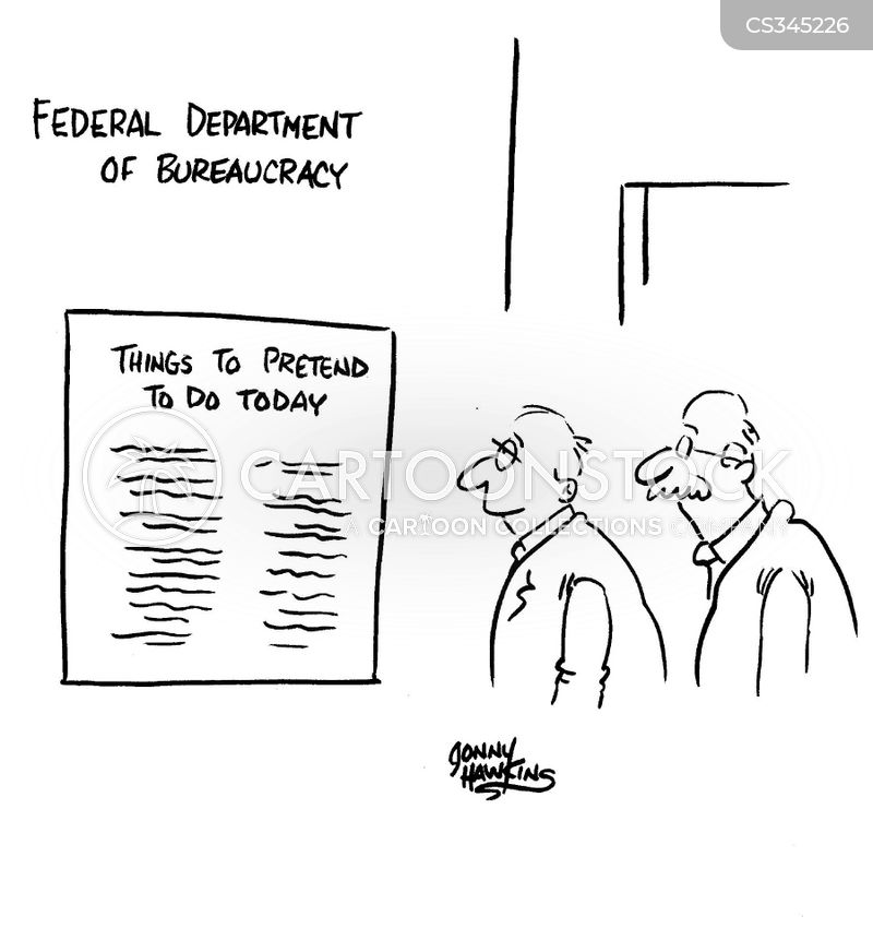 government workers cartoon