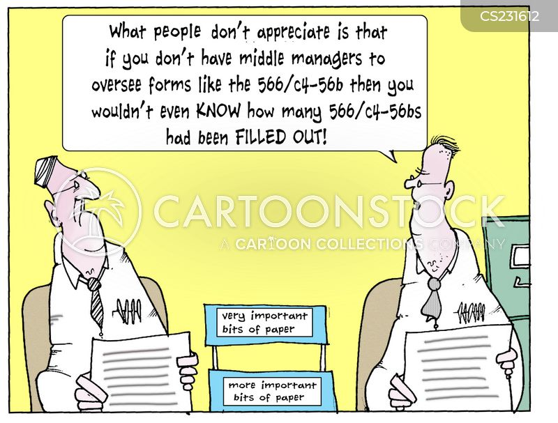 management structure cartoon