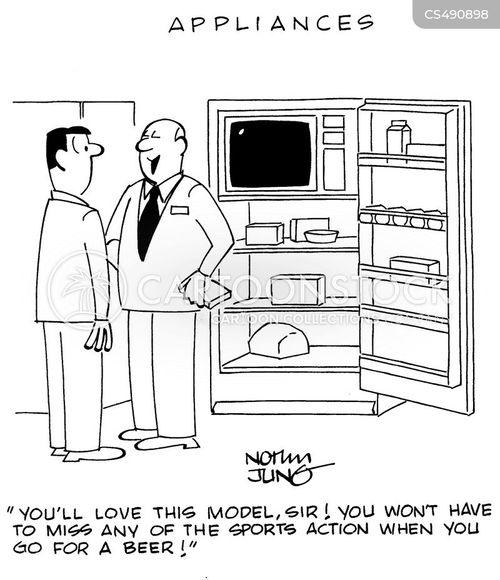 retail businesses cartoon