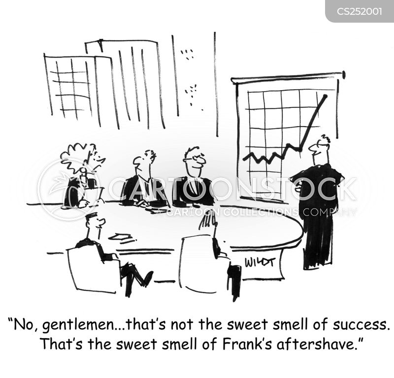 aftershave cartoon