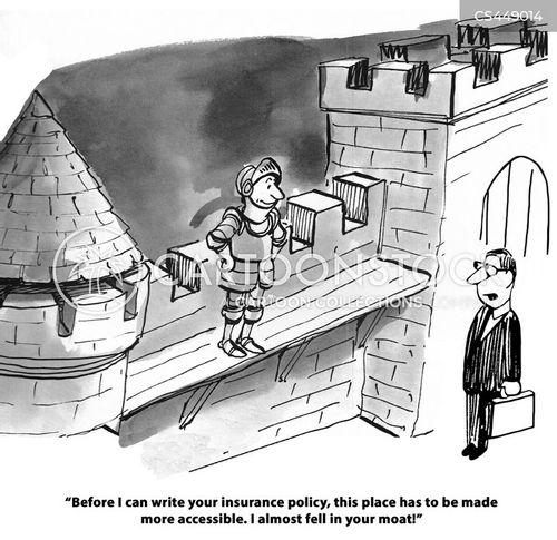 precaution cartoon
