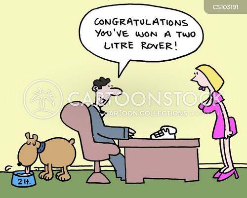 company incentive cartoon