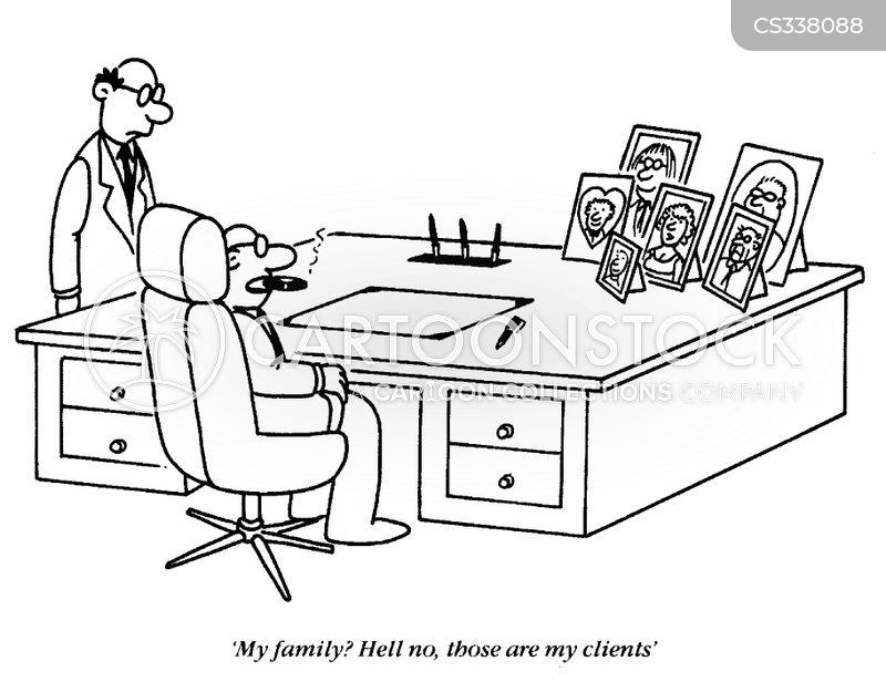 unethical business cartoon