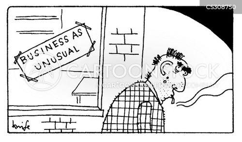 peculiar cartoon